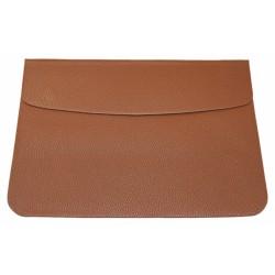 """Чехол MacCase для MacBook Air 11.6"""" кожзам /коричневый/"""