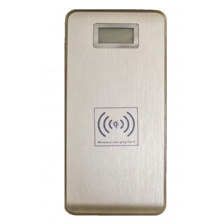 Универсальный внешний аккумулятор Palmexx KP-W120 PowerBank  /12000mAh/+ЗУ беспроводное QI /золото