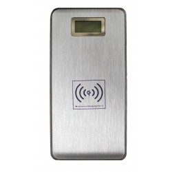 Универсальный внешний аккумулятор Palmexx KP-W120 PowerBank  /12000mAh/+ЗУ беспроводное QI /серебро