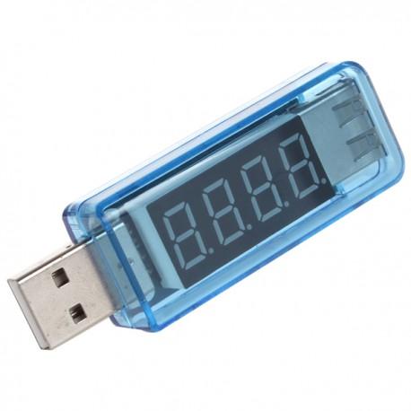 Тестер напряжения и силы тока USB-порта (KW-202)