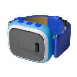 Детский GPS трекер часы-телефон / голубой
