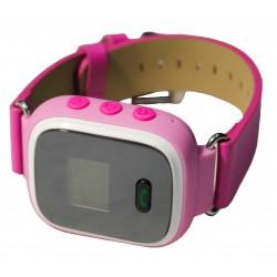 Детский GPS трекер часы-телефон / розовый