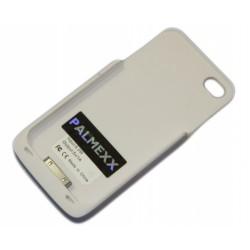 Адаптер QI-чехол для Apple iPhone 4 /белый/