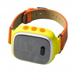Детский GPS трекер часы-телефон / желтый