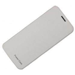 Чехол-книга с аккумулятором для Samsung Galaxy S6/S6 Edge /4200mAh/белый/