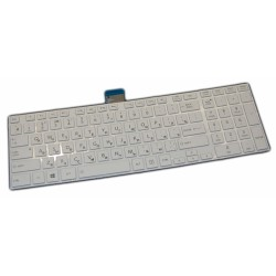 Клавиатура для ноутбука Toshiba C850 /белая/ RUS