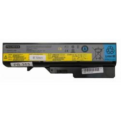 Аккумуляторная батарея PALMEXX для ноутбука Lenovo G770 (11,1V 5200mAh) /черная/ совместимость 121001071, 121001091, 121001094,