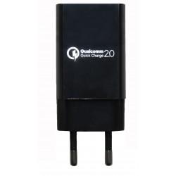Зарядное устройство Qualcomm Quick Charge 2.0 USB /15W/