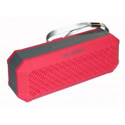 Bluetooth колонки с радио и mp3-проигрывателем HY-BT814L / красный