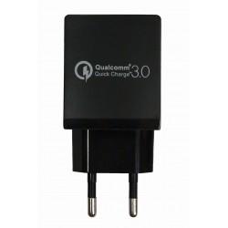 Зарядное устройство Qualcomm Quick Charge 3.0 USB Curve