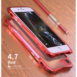Чехол LUPHIE для IPHONE7 SPORTS-CAR( FOR IPHONE6/7) / красный