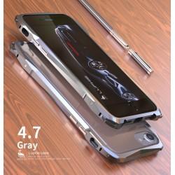 Чехол LUPHIE для IPHONE7 SPORTS-CAR( FOR IPHONE6/7) / серый