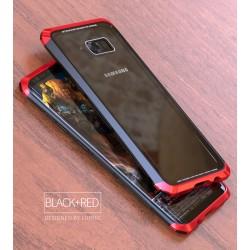 Чехол LUPHIE для SAMSUNG S8 DOUBLE DRAGON / черный+красный