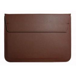 """Чехол PALMEXX MacCase для MacBook Air 15.4"""" кожзам с подставкой /коричневый/"""