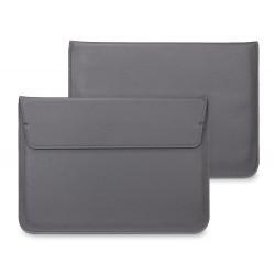 "Чехол PALMEXX MacCase для MacBook Air 15.4"" кожзам с подставкой /серый/"