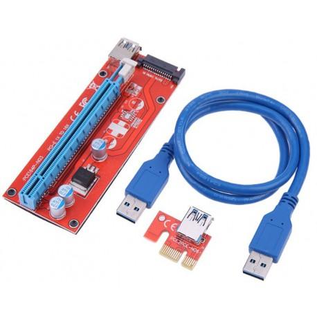 Райзер USB 3.0 007S 15pin