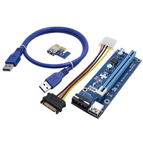 Райзер USB 3.0 ver 006
