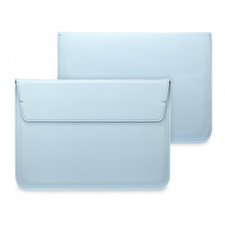 "Чехол PALMEXX MacCase для MacBook Air 13.3"" кожзам с подставкой /голубой/"