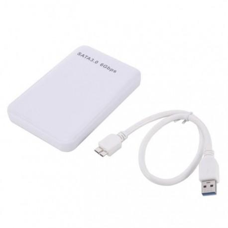 """Внешний корпус для жесткого диска PALMEXX PXB-M8 2.5"""" USB3.0 /белый/"""