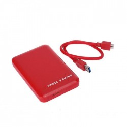 "Внешний корпус для жесткого диска PALMEXX PXB-M8 2.5"" USB3.0 /красный/"