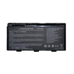 Аккумуляторная батарея PALMEXX BTY-M6D для ноутбука MSI (11.1V 7800mAh) /черная/