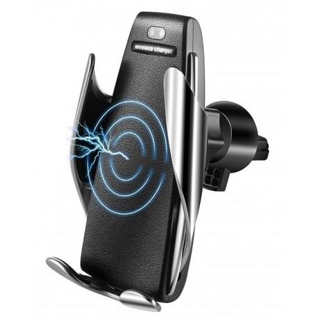 Автомобильный роботизированный держатель PALMEXX в дефлектор с беспроводным QI зарядным устройством Fast Charge