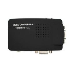 Конвертер PALMEXX RCA-Video S-Video to VGA