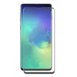 Защитное стекло противоударное PALMEXX для Samsung Galaxy S10 5D полный экран черное