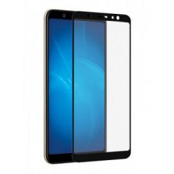 Защитное стекло противоударное PALMEXX для Samsung Galaxy A6 Plus 5D черное