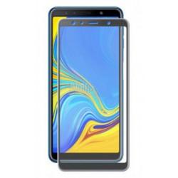 Защитное стекло противоударное PALMEXX для Samsung Galaxy A7 (2018) 5D черное