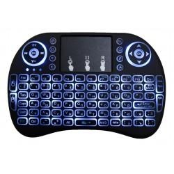 Беспроводная мини-клавиатура PALMEXX с подсветкой /черная