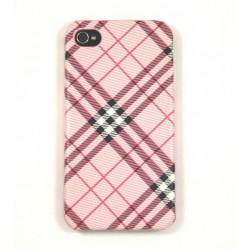 Чехол для iPhone 4G Burberry розовый