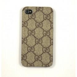 Чехол для iPhone 4G Gucci коричневый