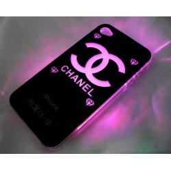 Чехол для iPhone 4G - светомузыка, работающий от звонка Chanel