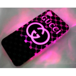 Чехол для iPhone 4G - светомузыка, работающий от звонка Gucci