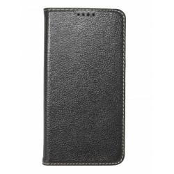 Кожаный чехол PALMEXX для Samsung Galaxy S6 книга /черный/