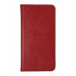 Кожаный чехол PALMEXX для Samsung Galaxy S6 книга /красный/