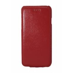Кожаный чехол PALMEXX для Apple iphone 6 флип /красный/