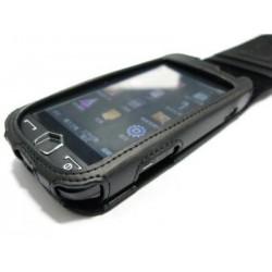 Кожаный чехол Samsung i8000