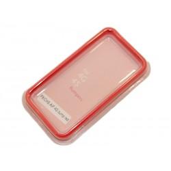 Бампер для Apple iPhone 4S /красный/