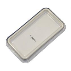 Бампер для Apple iPhone 4S /белый/