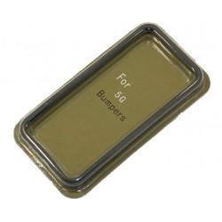 Бампер для Apple iPhone 5 /черный/