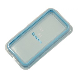 Бампер для Apple iPhone 5 /голубой/