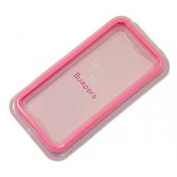 Бампер для Apple iPhone 5 /розовый/