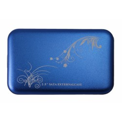 "HDD Case 2.5"" USB2.0 /синий/"
