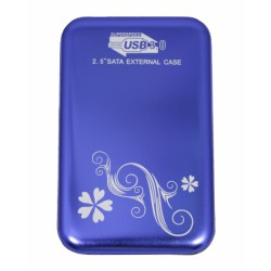 "HDD Case 2.5"" USB3.0 (до 2Tb) /синий/"
