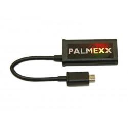 Кабель HDMI(mama) - microUSB