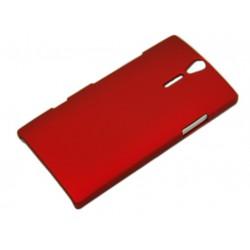 Чехол HARD CASE для Sony Xperia S /бордовый/