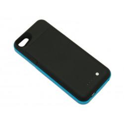 Чехол с аккумулятором для iPhone 5 Mophie /2000mAh/голубой/