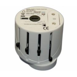 Зарядное устройство адаптер универсальный, совместим с UK/US/EU/AU стандартами 550W